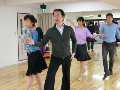 社交ダンス・チャチャチャ