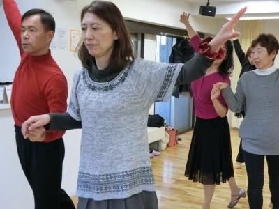 社交ダンスチャチャチャ