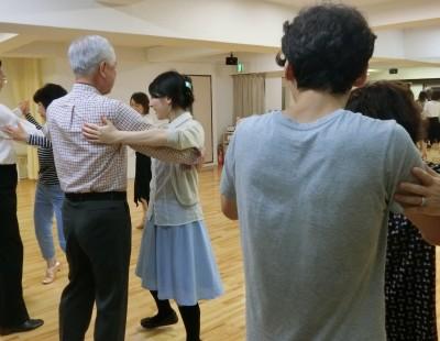 社交ダンス初心者