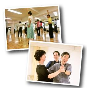 社交ダンス見学